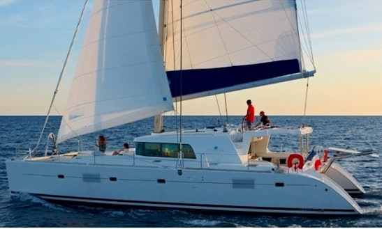 Charter 50' Catamaran In Athens