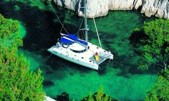 46' Catamaran Charter In Mediterranean
