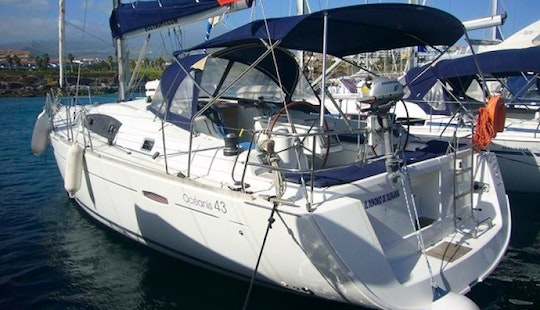 Canary Islands Charter Oceanis 43