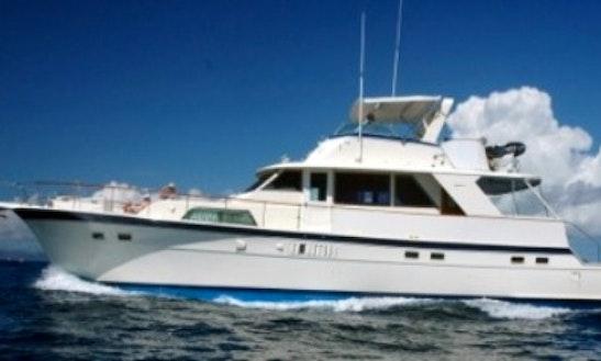 Charter Motor Yacht In Charlotte Amalie