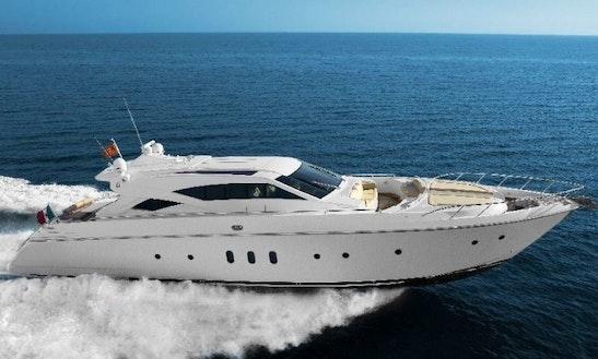 Charter 72' Motored Yacht In Split