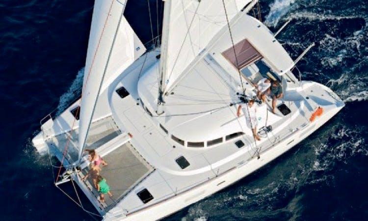 Charter Lagoon 380 from Flanders, Belgium