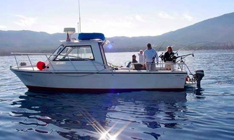 Hopper III - Coast Guard Certified 30' Fishing Charter Lake Tahoe