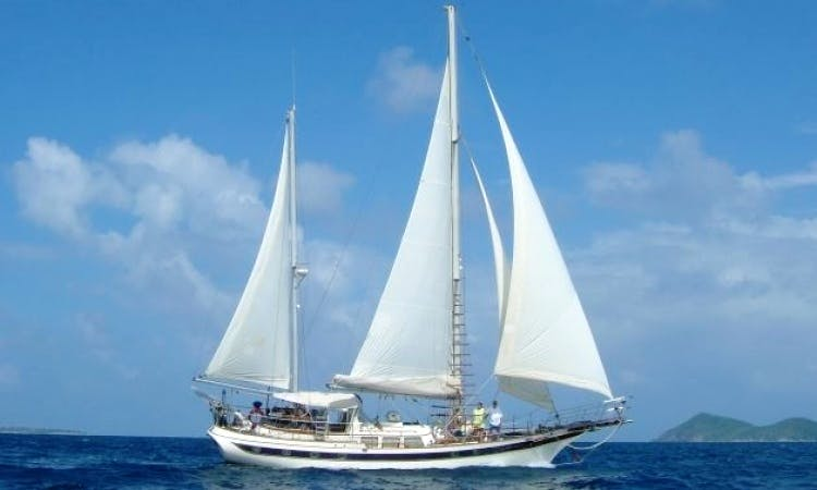 "Charter ""Crystal Clear"" 62' Sailing Yacht in Caribbean"