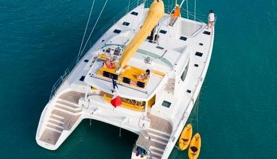 Charter Motu 62' Catamaran In Caribbean