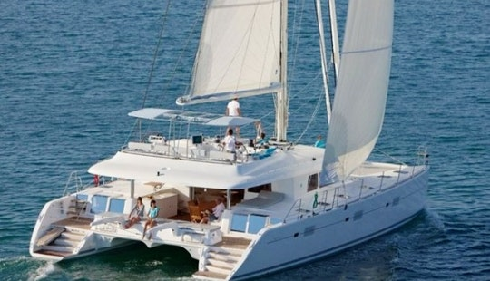 Captained Charter This 10 People Lagoon 62 Catamaran In Sint Maarten