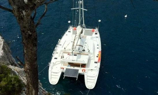 Charter Vip One Lagoon Yacht In Caribbean