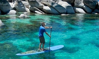 Standup Paddleboard Rental in Tahoe Vista - Lake Tahoe