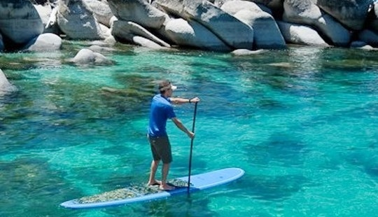 Standup Paddleboard Rental In Tahoe Vista - Lake Tahoe
