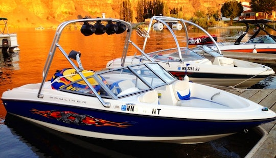 18' Bowrider Rental In East Wenatchee, Washington