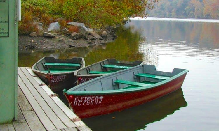 Rent a Lake Rider Sports- Row Boat