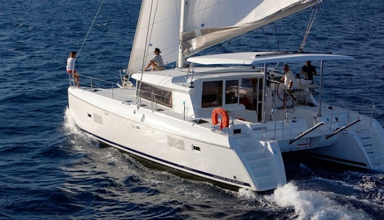Lagoon 420 Catamaran Charter In Aegean Sea