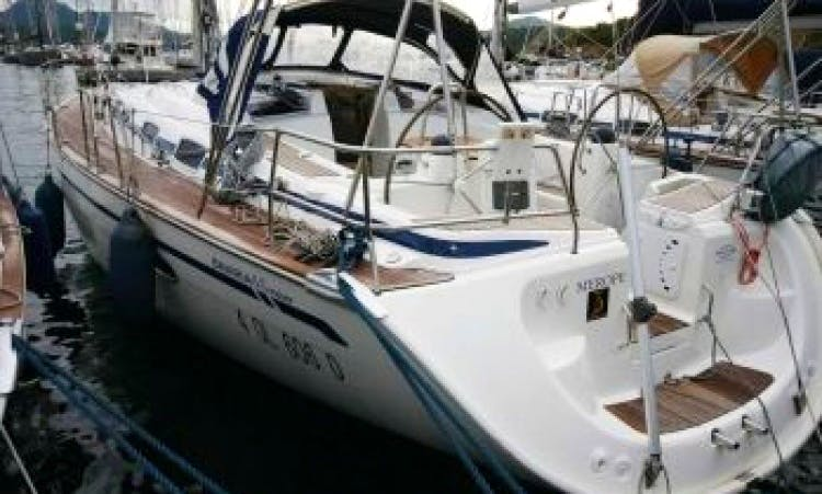 Book a sailing charter for a day of fun on a Bavaria 46 Cruiser - Merope