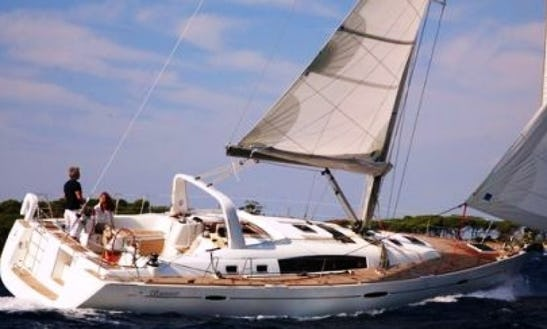 Sail On A Bareboat Charter On A Oceanis 50 Family From Pisa, Italy
