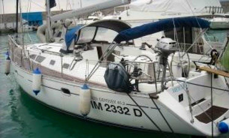 Merak, Sun Odyssey 45.2 Sailing Charter in Italy