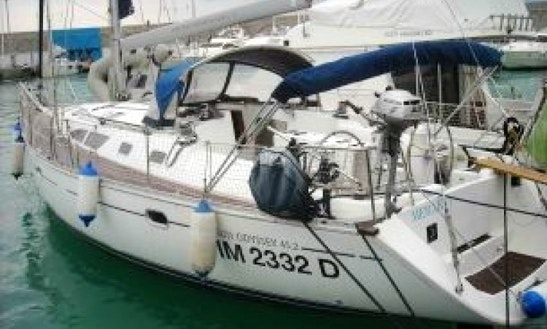 Merak, Sun Odyssey 45.2 Sailing Charter In Italy