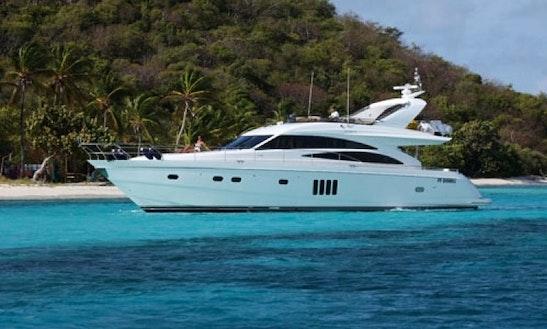 Sorana Motor Yacht Charter In Charlotte Amalie