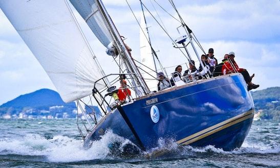 58ft 'pilgrim' Beautiful Sailing Yacht In Sydney