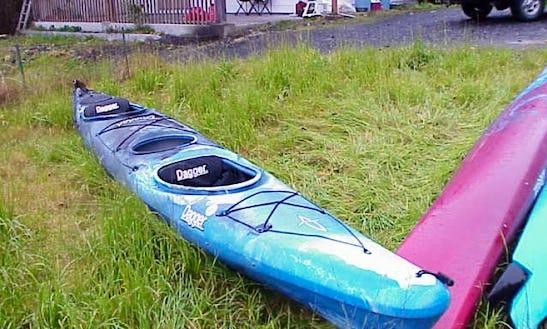 Rent Double Kayaks Around Wrangell, Alaska
