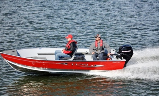 Rent A 16' Lund Skiff On Stikine River