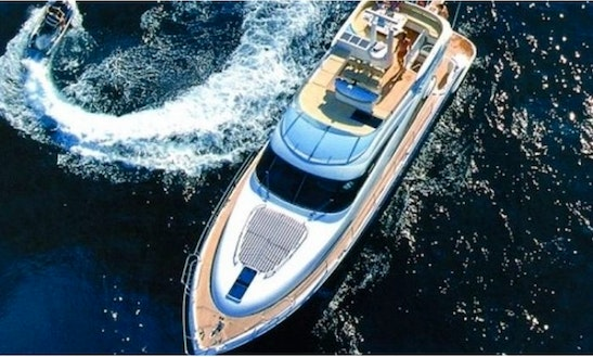 Charter A Luxury Fairline Squadron 58 M/y Marlo Karlo Power Mega Yacht In Split Croatia