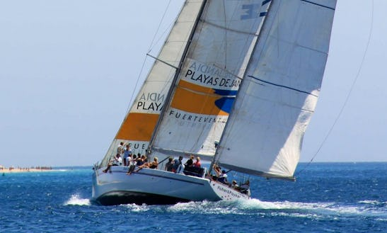 Maxi Power Sailing In Morro Jable