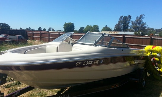 Rent Reinell Wakeboard Boat On Lake Sonoma