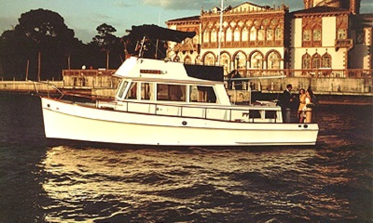 36' Grand Banks Trawler Charter In Sarasota, Florida