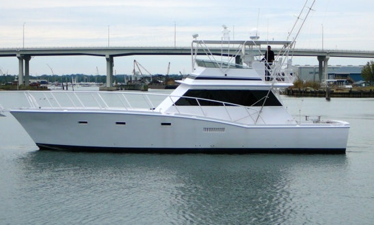Charter 54' Sport Fishing Boat In Gulfport