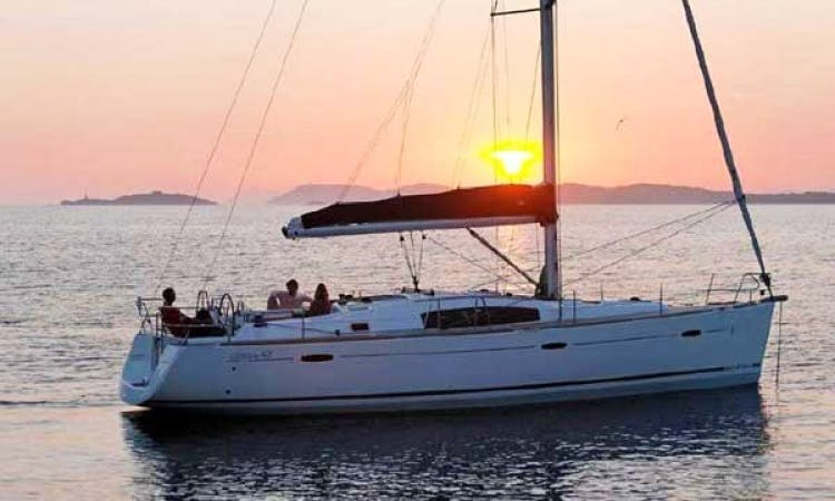 Sail the waves on the the 'Silly Shark' - Oceanis 43