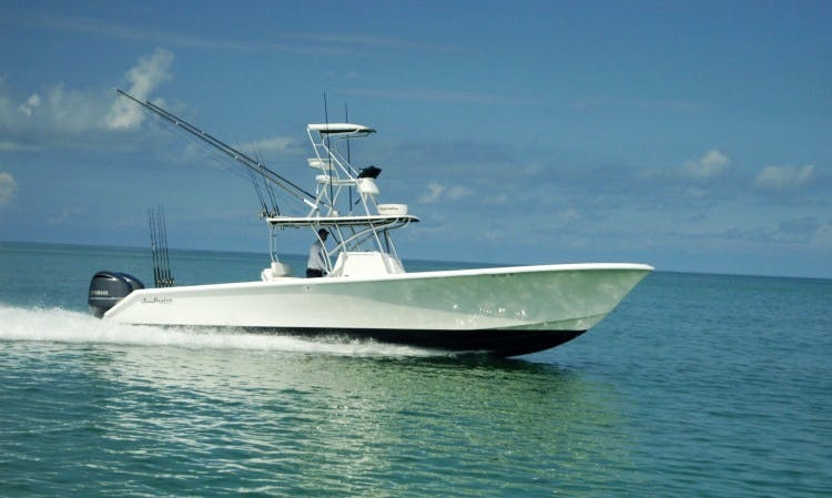 "Fishing Charter on 37ft ""Compass Rose"" Boat in Key West"