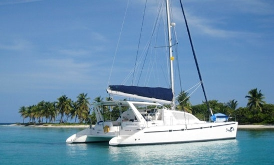 Charter Dreaming On 47' Catamaran Yach In Caribbean