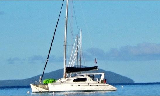 Charter Pisces 47' Catamaran Yacht In Caribbean