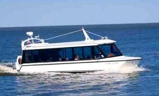 Charter 33' Lake Limo Motor Yacht In Kemah, Texas