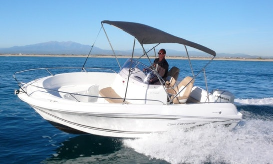 Rent 20' Camarat Power Boat In Canet-en-roussillon France