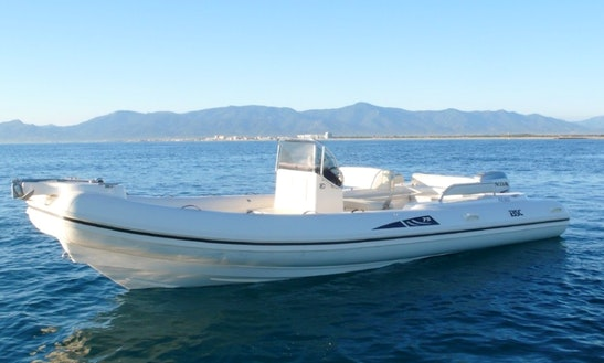 Rent 25' Open Power Boat In Canet-en-roussillon France