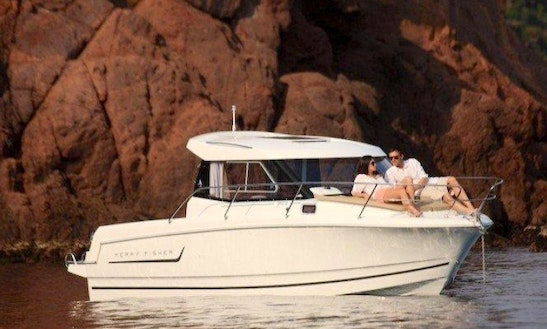 Hire A Merry Fisher 23' Power Boat In Canet-en-roussillon, France