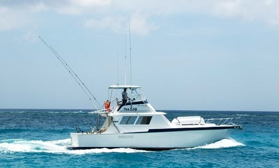 42ft Hatteras Sportfishing Yacht In Aruba