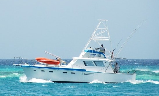 Oranjestad Fishing Charter On 42ft