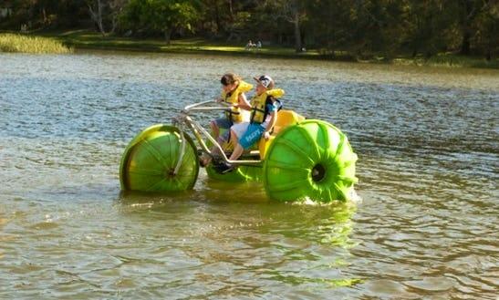 Hire An Aqua Bike In Audley, Australia