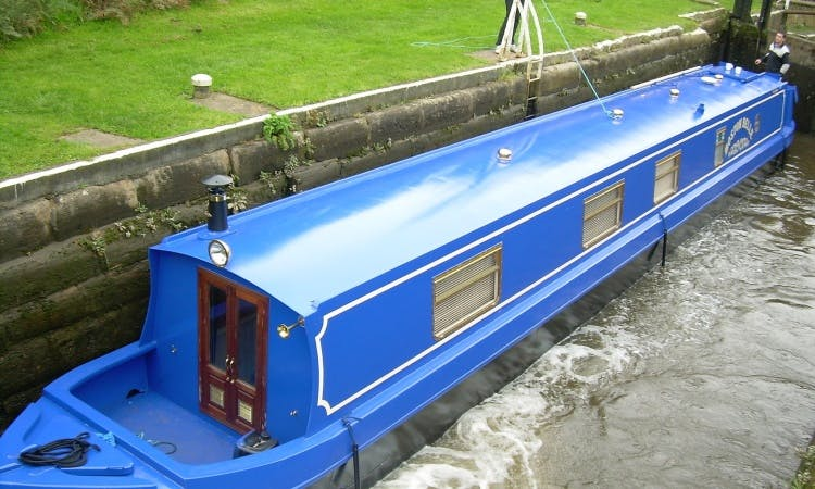 'Boston Belle' 57' Canal Boat for Hire in Hoghton UK