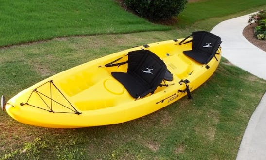 Sit On Top - 2 Seater Ocean Kayak Brand For Hire In Boreen Point, Australia