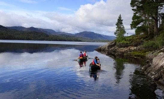 Canadian Canoe Hire In Kirkhill