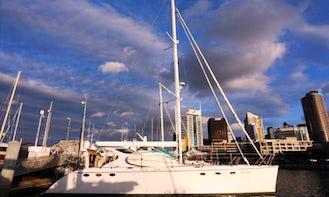New Zealand Luxury Yacht Charter on 58' Lady Helena Luxury Catamaran