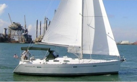 Charter 39ft 'two J Birds' Beneteau Sailboat In Kemah, Texas