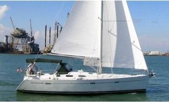 Charter 39ft 'Two J Birds' Beneteau Sailboat In Kemah, Texas