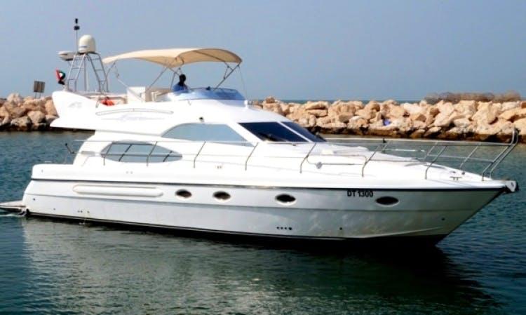 """50ft """"Sama"""" Al Shaali Marine Yacht Charter in Dubai, UAE"""