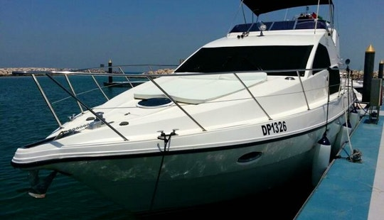 48ft Gulf Craft Luxury Motor Yacht Charter In Dubai, Uae
