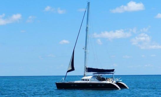 Enjoy The 47' Lagoon Sailing Catamaran From Puerto Morelos, Quintana Roo