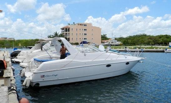 Crewed Charter On  34' Chris Craft Crowne Yacht In Riviera Maya